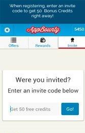 انتخاب گزینه invite، وارد کردن کدblnpytdo، انتخاب گزینه go