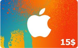 خرید گیفت کارت آیتونز ، خرید گیفت کارت اپل ، گیفت کارت اپل