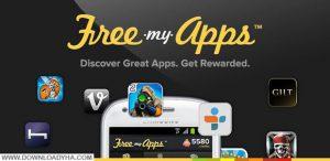 برنامه free my apps، دریافت گیفت کارت رایگان از free my apps، دانلود برنامه free my apps
