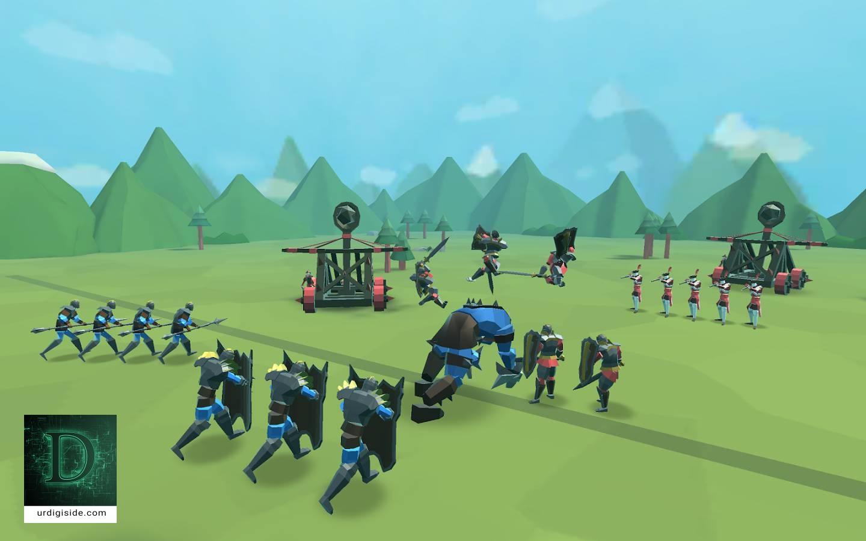 بازی شبیه سازی جنگ حماسی 2