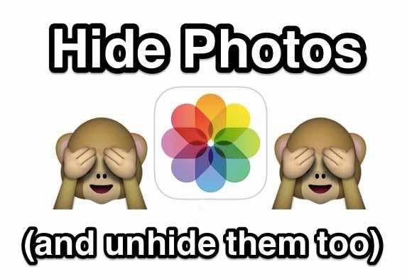 مخفی کردن تصاویر