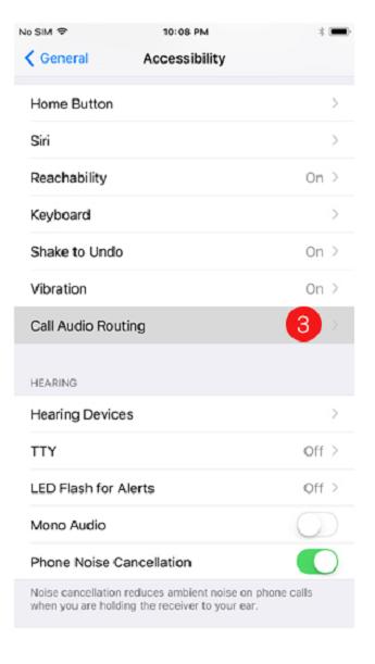 راه اندازی پاسخ اتوماتیک در iOS