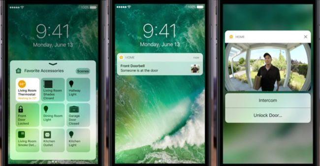 برنامه Home در آی او اس iOS