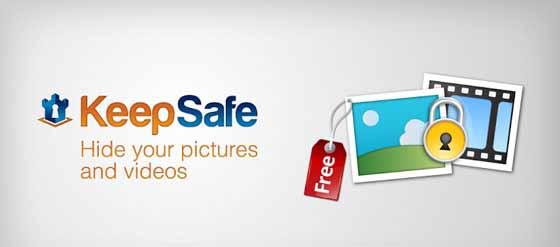 برنامه Keep Safe