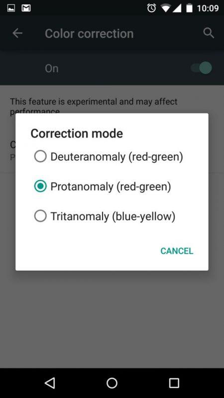 تصحیح رنگ خودکار