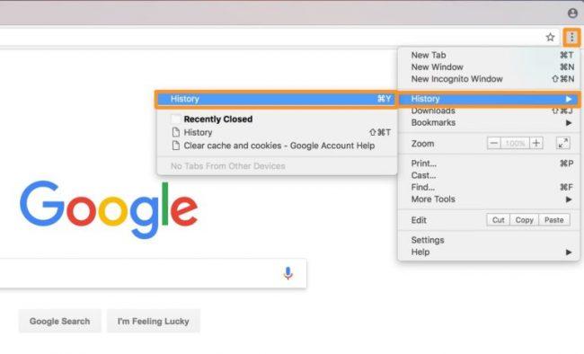 پاک کردن کش در گوگل کروم