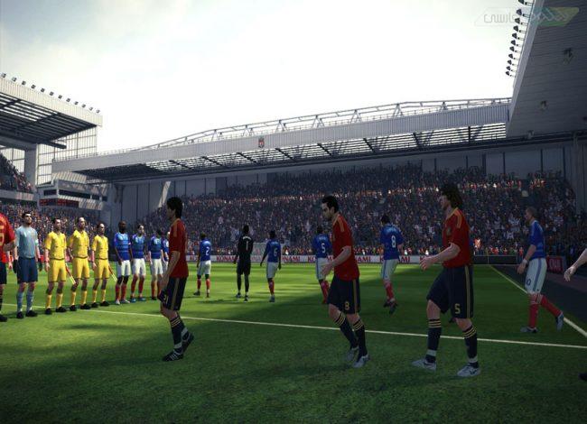 بازی فوتبال PES 2010