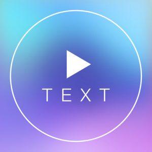 نرم افزار Text On Video Square