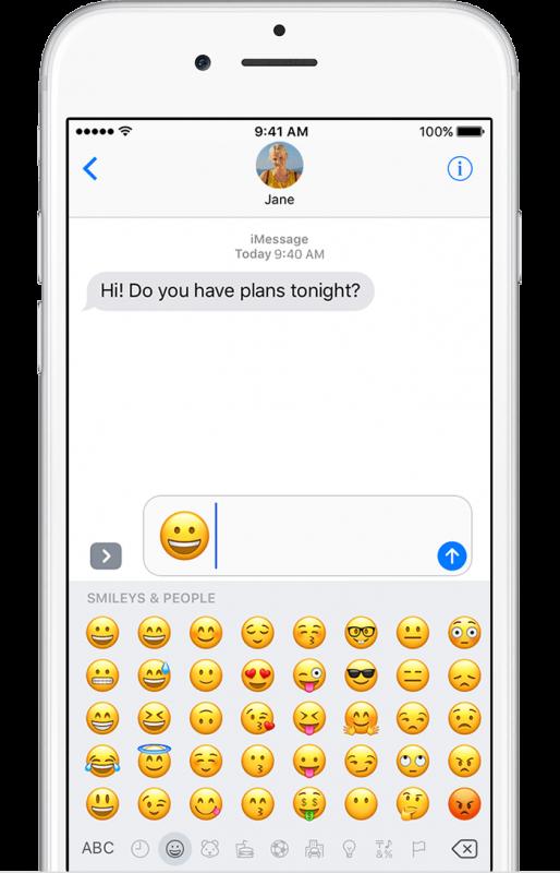 فعال کردن شکلک ها Emoji