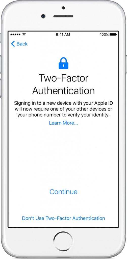 وارد کردن Apple ID