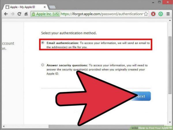 تعویض پسور اپل آیدی از طریق سایت اپل