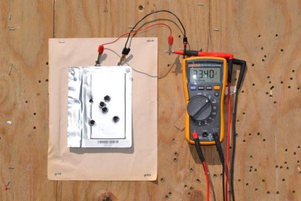 پر شدن شارژ باتری