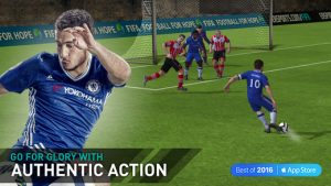 بازی فوتبال فیفا برای گوشی اپل