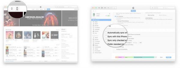 اموزش فعال سازی و استفاده از قابلیت iTunes Wi-Fi Sync در iOS