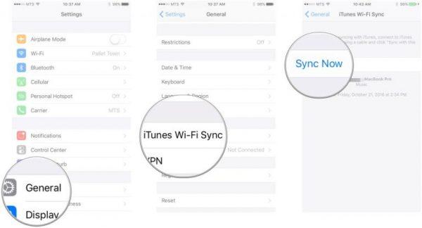 نحوه راه اندازی Wifi برای iOS