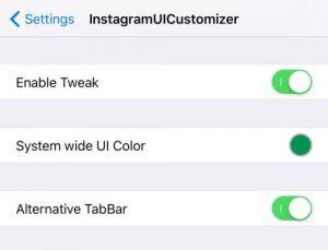 اپلیکیشن اینستاگرام InstagramUICustomizer