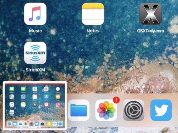 اسکرین شات در آیفون