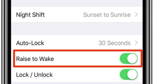 غیرفعال کردن Tap to Wake