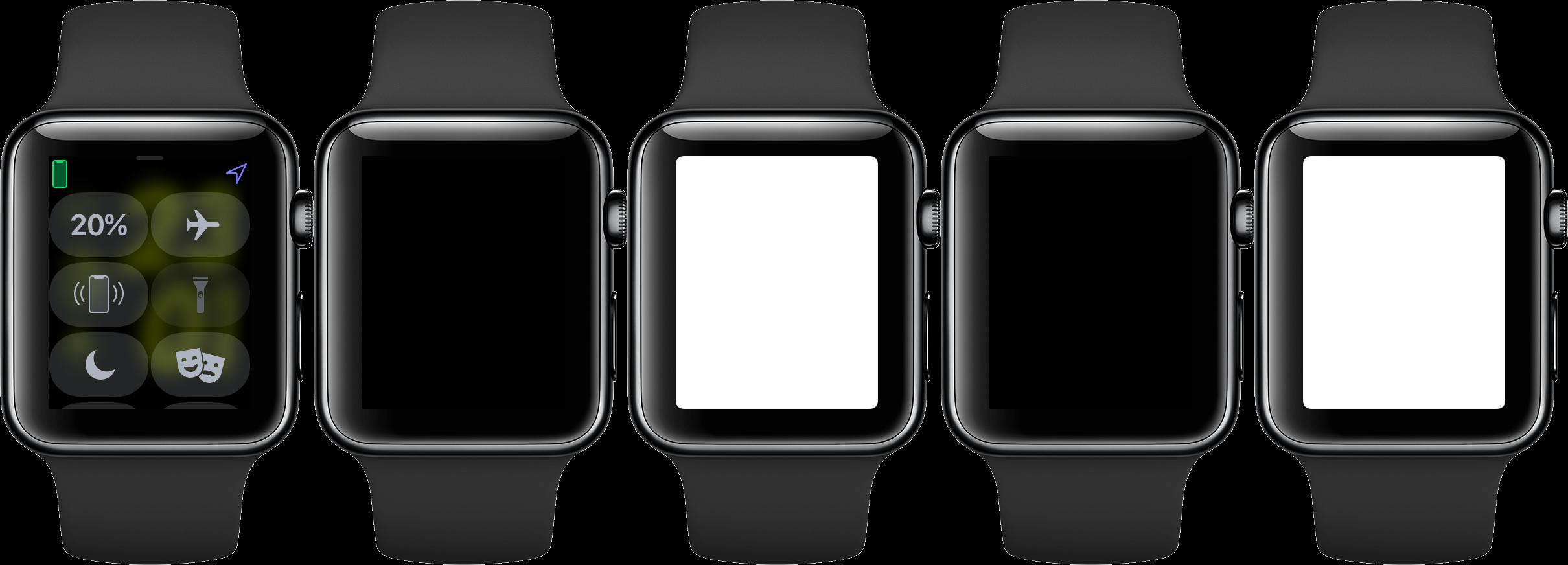 تبدیل apple watch به چراغ قوه