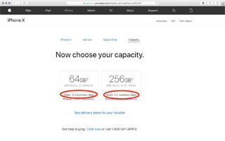 زمان عرضه ایفون x به یک تا دو روز کاری کاهش یافته است